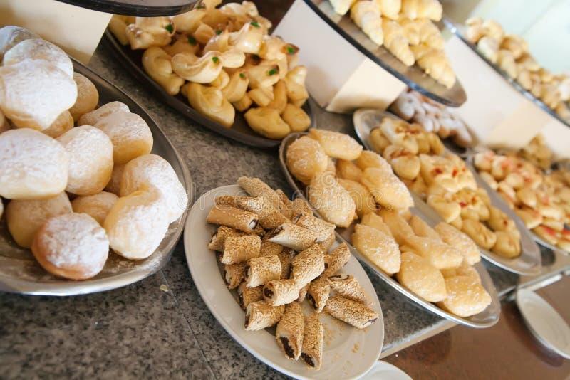 печенье шведского стола стоковое фото rf