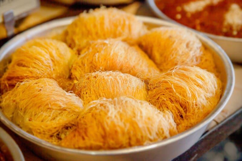 Печенье Kataifi стоковые фото