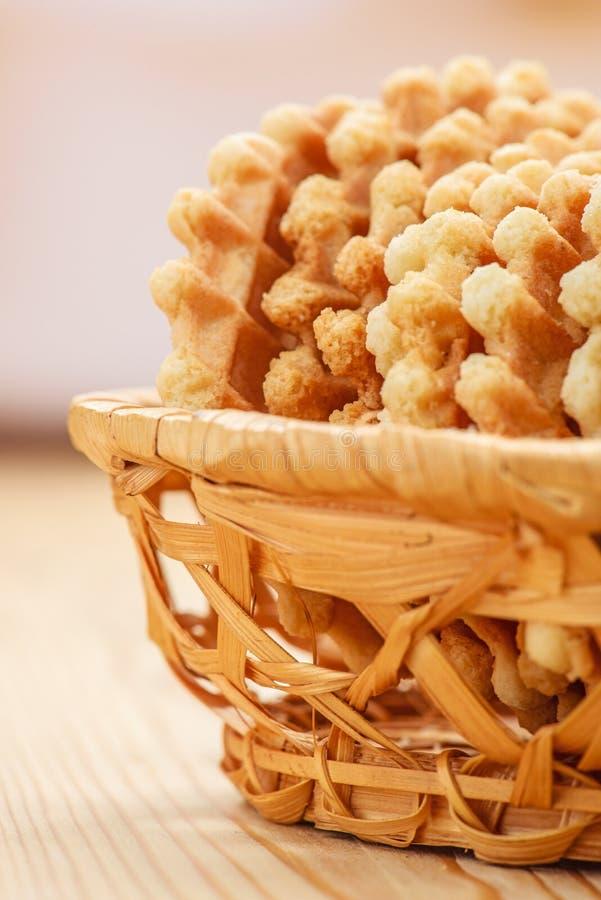 Печенья в вазе