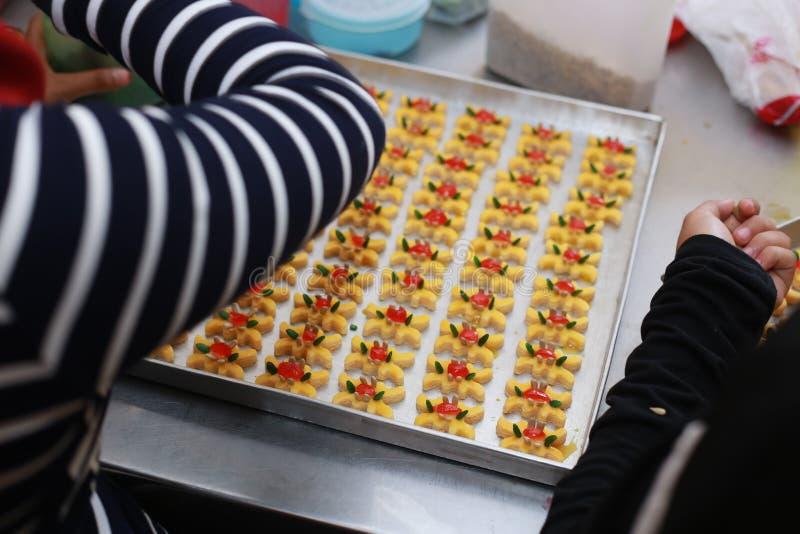 Печенья для Eid Mubarak стоковая фотография rf