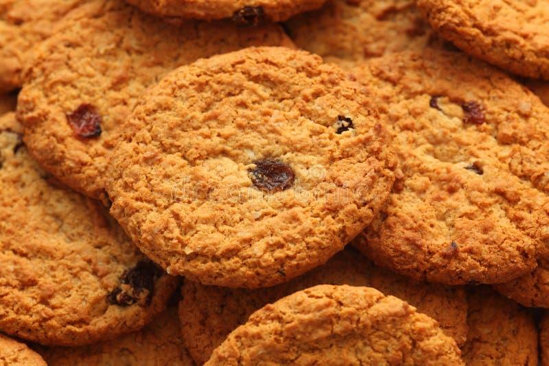Печенья изюминки овсяной каши стоковое фото rf