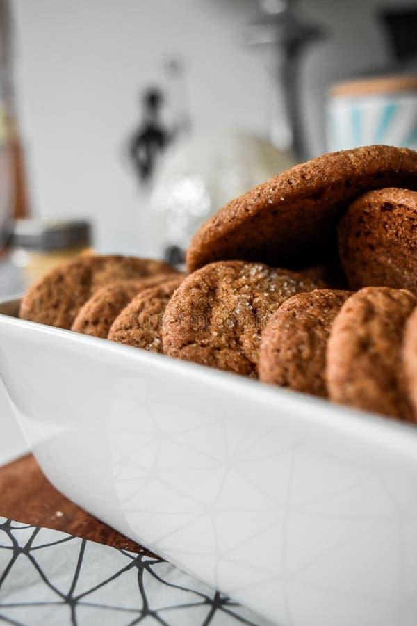 Печенья имбиря самонаводят сделанный deilicious стоковая фотография rf