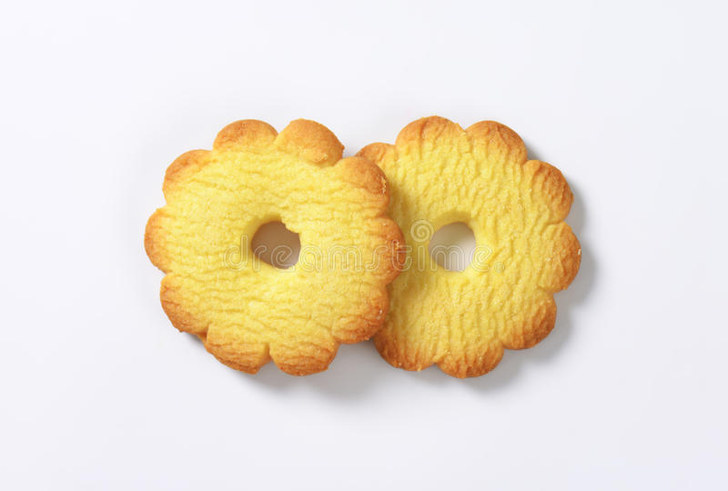 печенья масла стоковое изображение