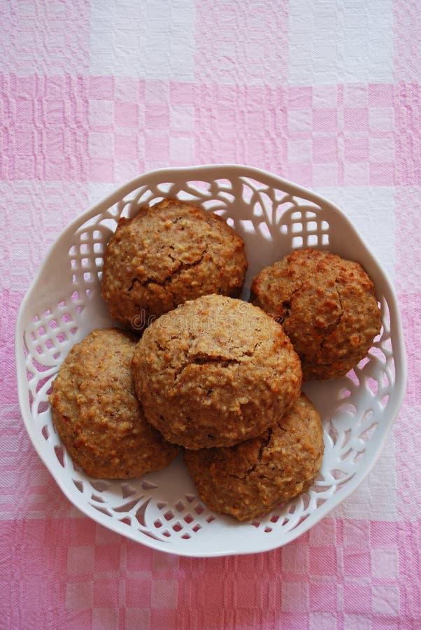 печенья миндалин домодельные стоковое фото rf