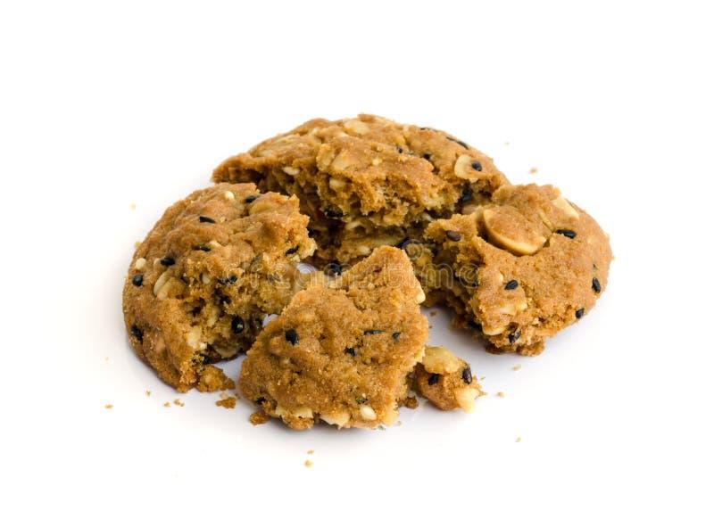 Download Печенья обломока шоколада. стоковое фото. изображение насчитывающей калории - 37927398