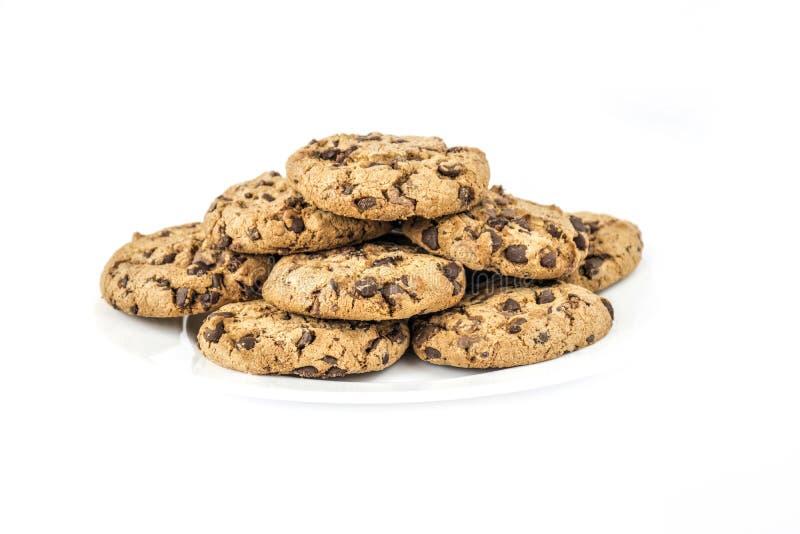 Печенья обломока шоколада стоковое фото