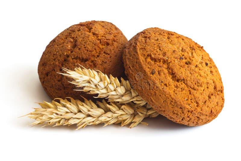 Download Печенья овсяной каши стоковое изображение. изображение насчитывающей изолировано - 35737151