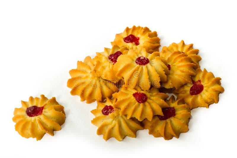 Download печенья печений вишни стоковое фото. изображение насчитывающей изолировано - 18397768
