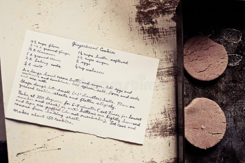 Печенья пряника стоковое изображение rf