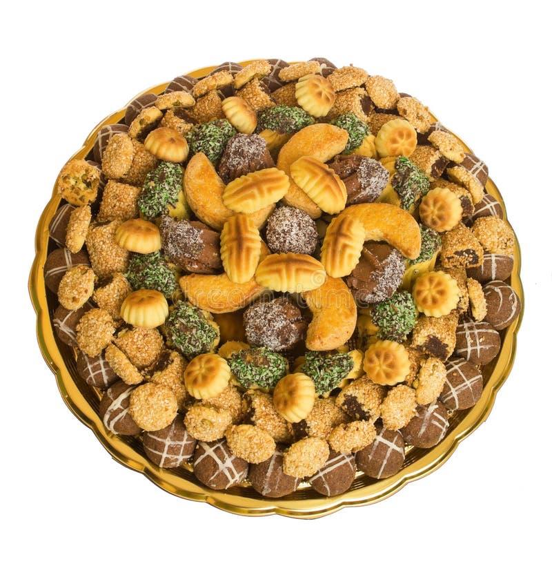 печенья различные стоковая фотография