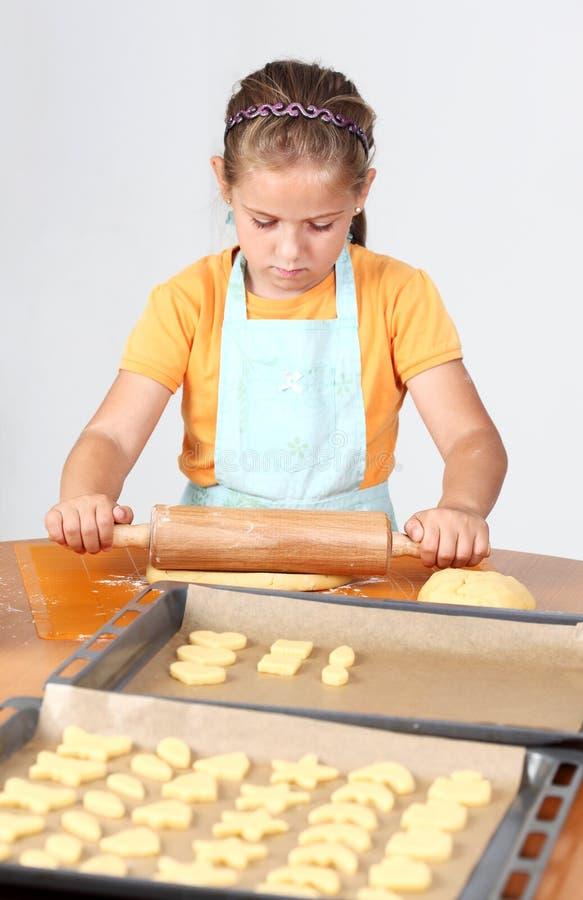 печенья ребенка выпечки стоковые изображения
