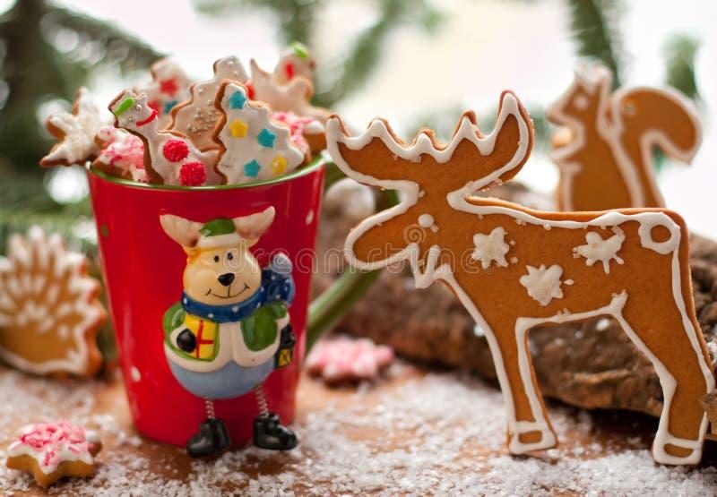печенья рождества стоковое изображение