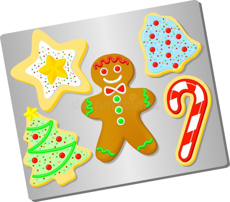печенья рождества ai бесплатная иллюстрация