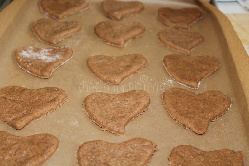Печенья сердца стоковое фото