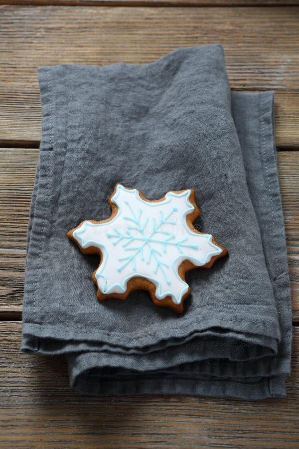 Печенья снежинок Xmas стоковые изображения rf