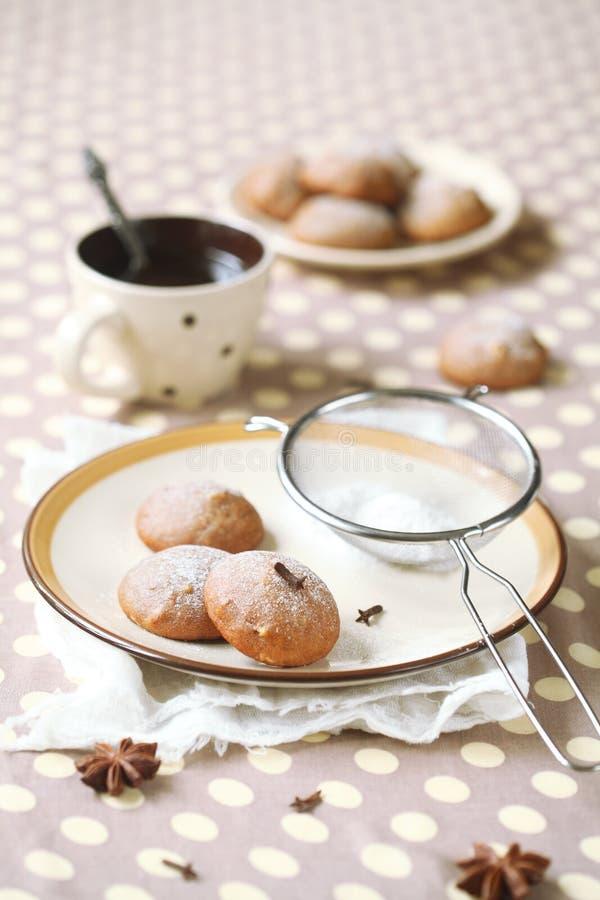 Печенья специи Vegan стоковая фотография rf