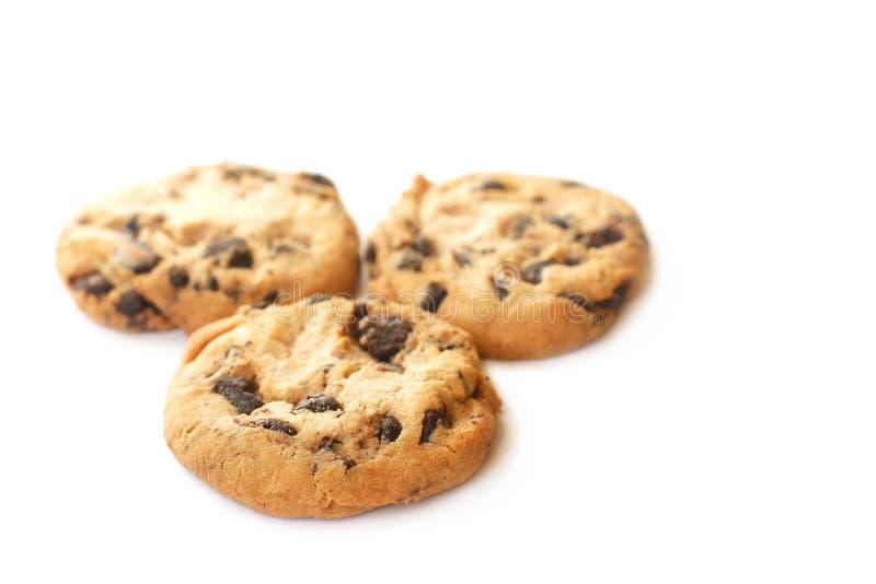 Печенья с шоколадом стоковые изображения rf