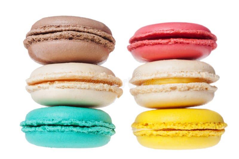 Печенья француза Macarons стоковые изображения rf