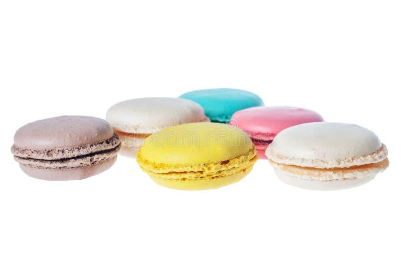 Печенья француза Macarons стоковое изображение rf