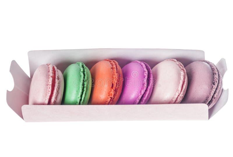 Печенья француза Macarons стоковые фотографии rf