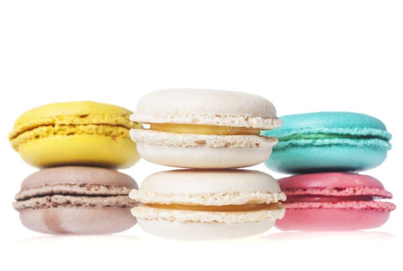 Печенья француза Macarons стоковая фотография rf