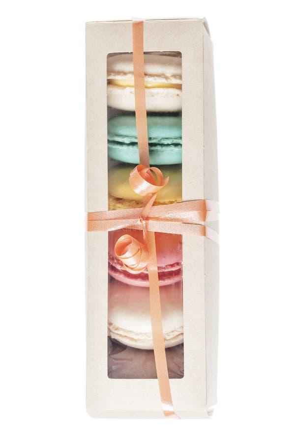 Печенья француза Macarons стоковое фото rf