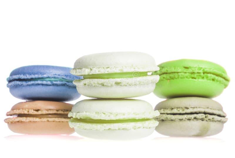 Печенья француза Macarons стоковые фото