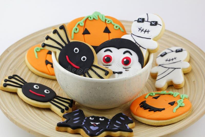 Печенья хеллоуина стоковые фотографии rf