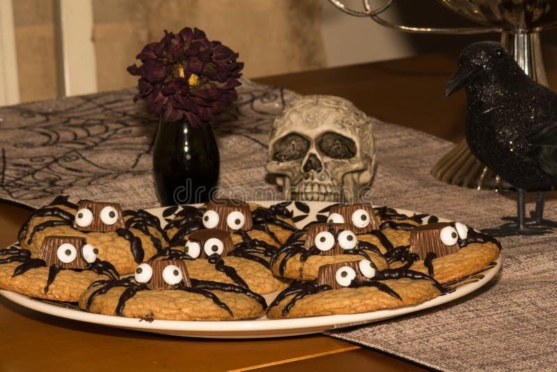 Печенья хеллоуина стоковое фото rf