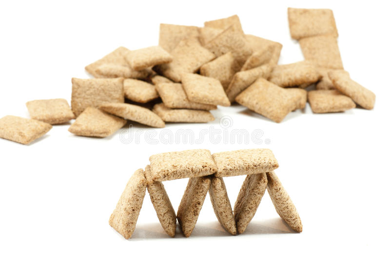 печенья хлопьев стоковое изображение