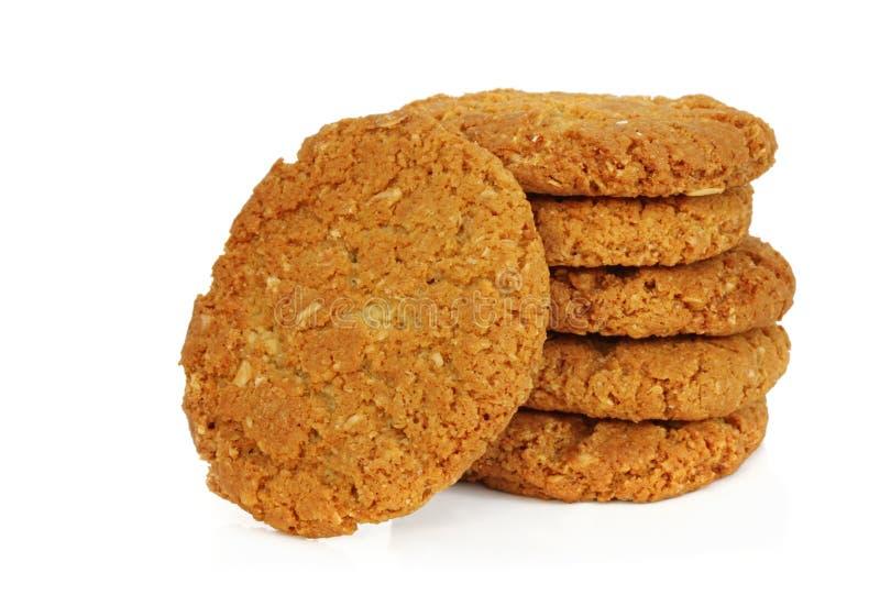 печенья anzac стоковое изображение