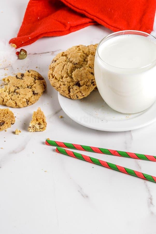 печенья claus доят santa стоковое фото rf