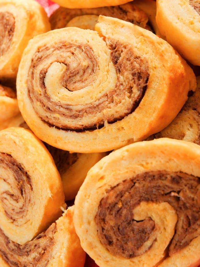 Печенья Pinwheel стоковая фотография rf