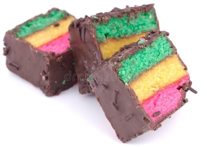 печенья tricolor стоковая фотография
