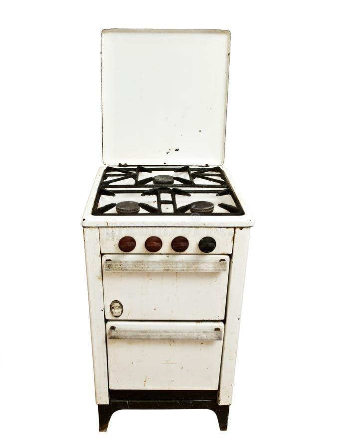 печка газа старая стоковая фотография rf