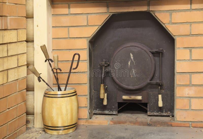 печка металла стоковое фото