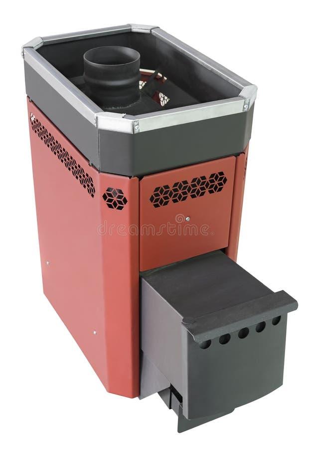 печка утюга стоковое изображение rf