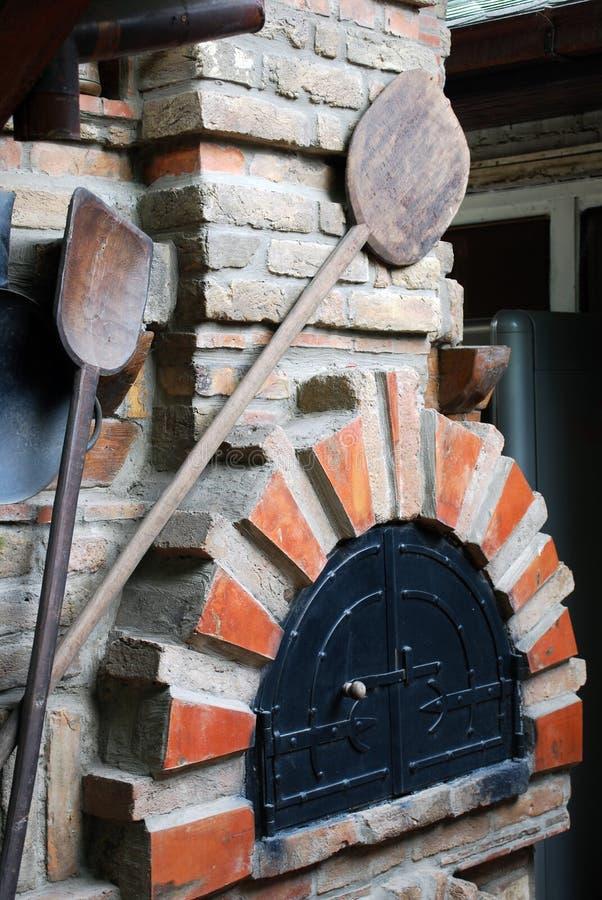 печка хлебопекарни стоковое изображение