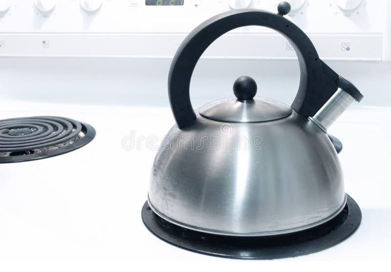 печка чайника стоковая фотография rf
