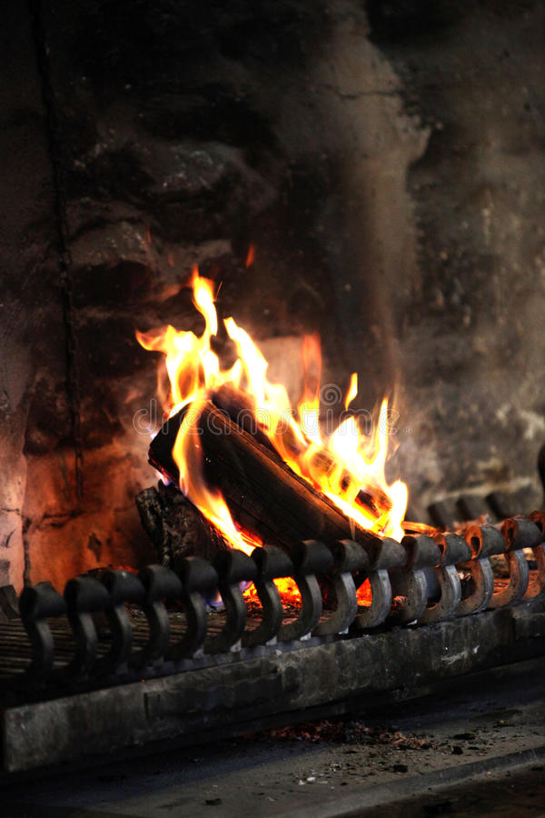 печка woodburning стоковое фото