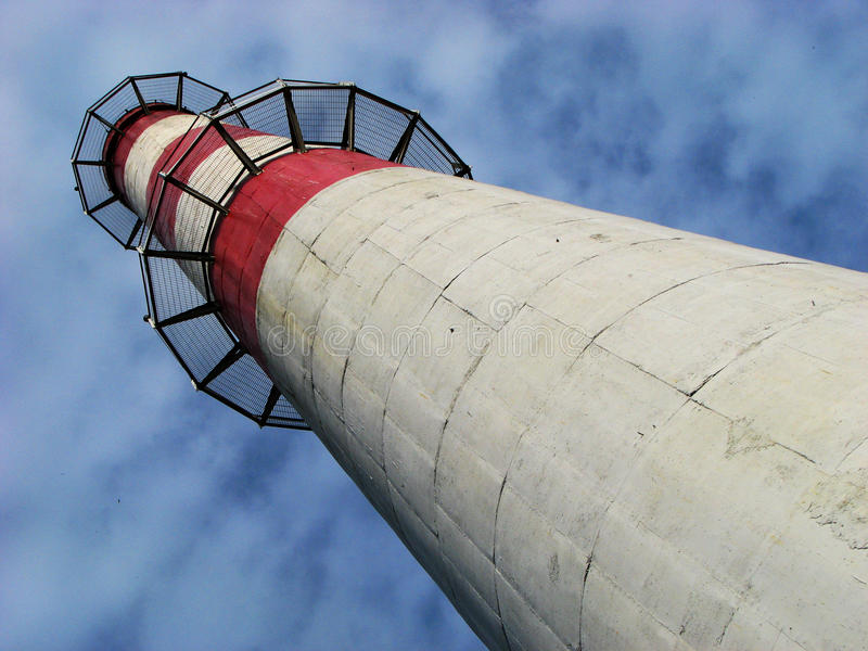 Печная труба завода жары стоковая фотография rf