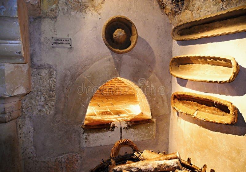 Печь хлебопекарни стоковая фотография