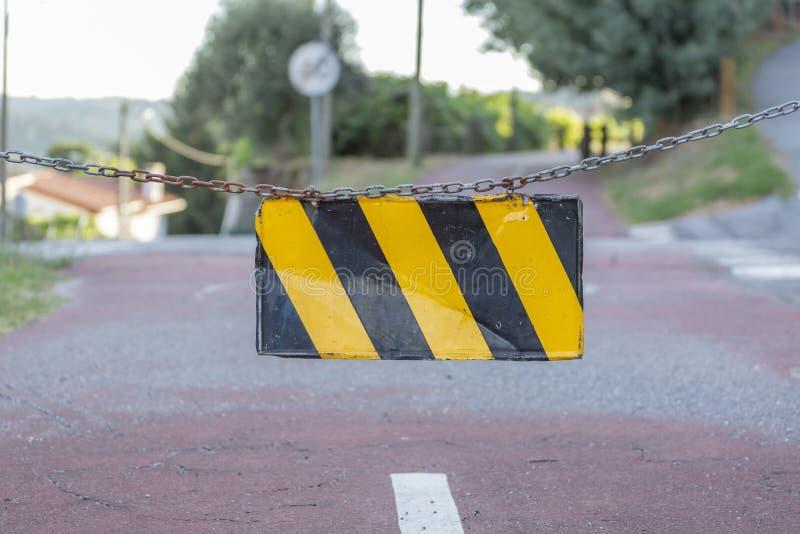Пешеход и путь eco цикла, в Viseu, Португалия стоковая фотография rf