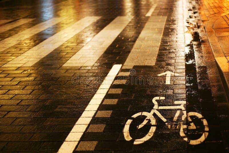 пешеход скрещивания стоковое фото rf