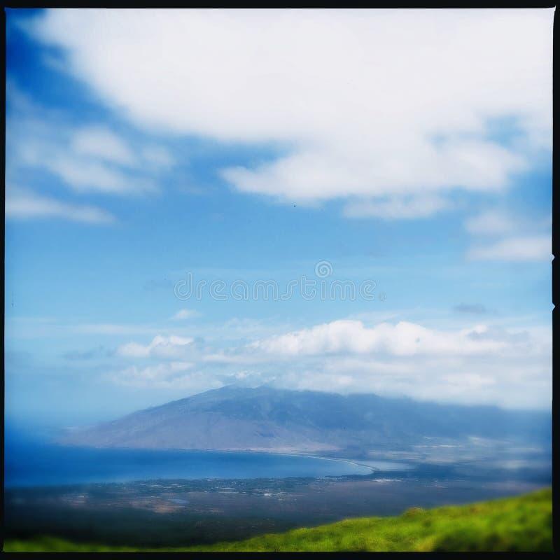 Пеший туризм в Kula на Мауи стоковое изображение rf