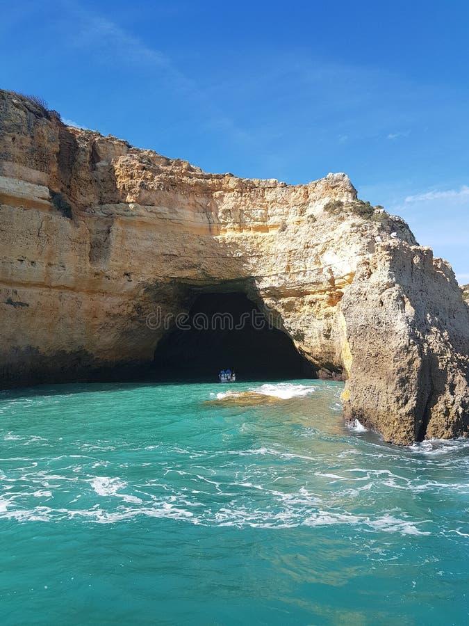 Пещера Алгарве стоковые изображения
