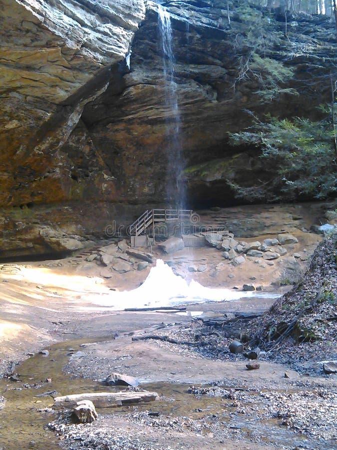 Пещера золы стоковые изображения rf