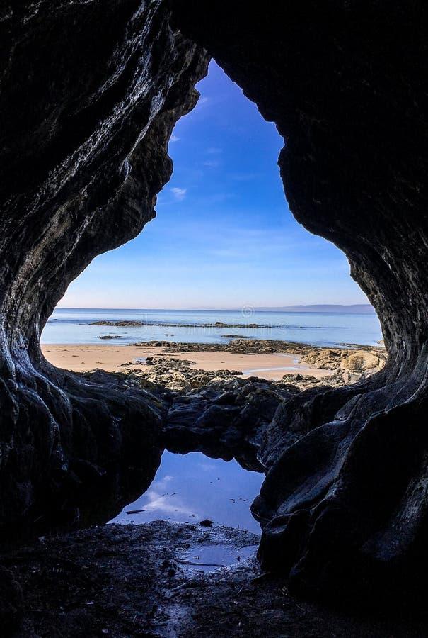 Пещера лопаты стоковое фото rf