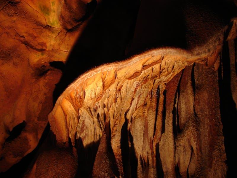 Пещера Domica в Словакии стоковые изображения