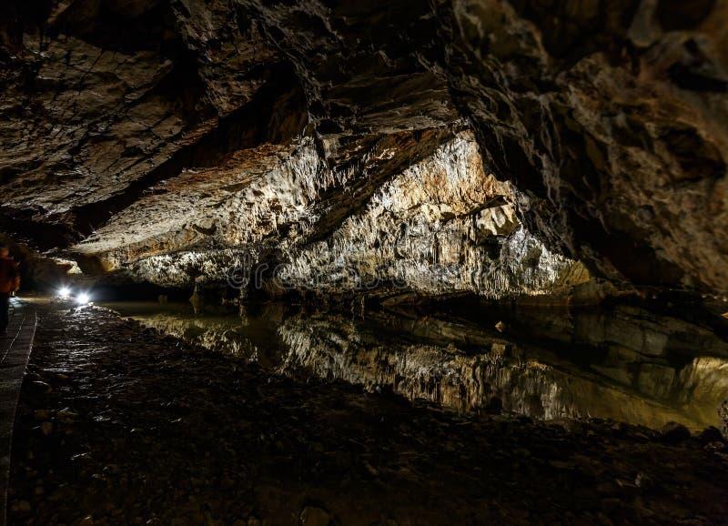 Пещера Dripstone стоковое фото rf